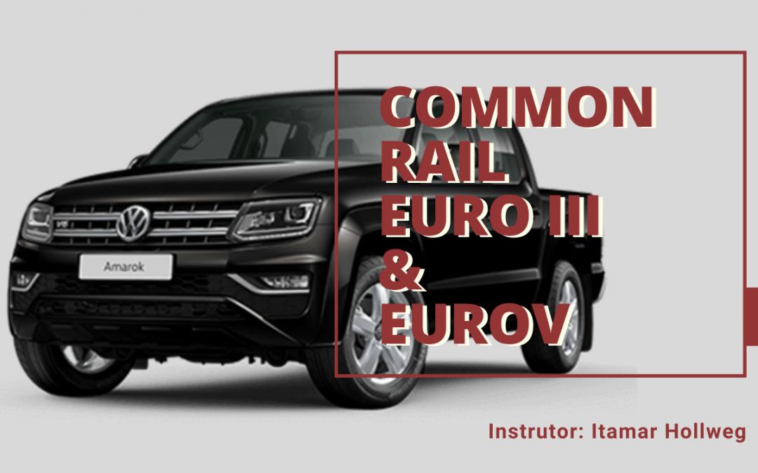 Curso de Common Rail EURO III e EURO V – 25 a 29 de Novembro – 2019